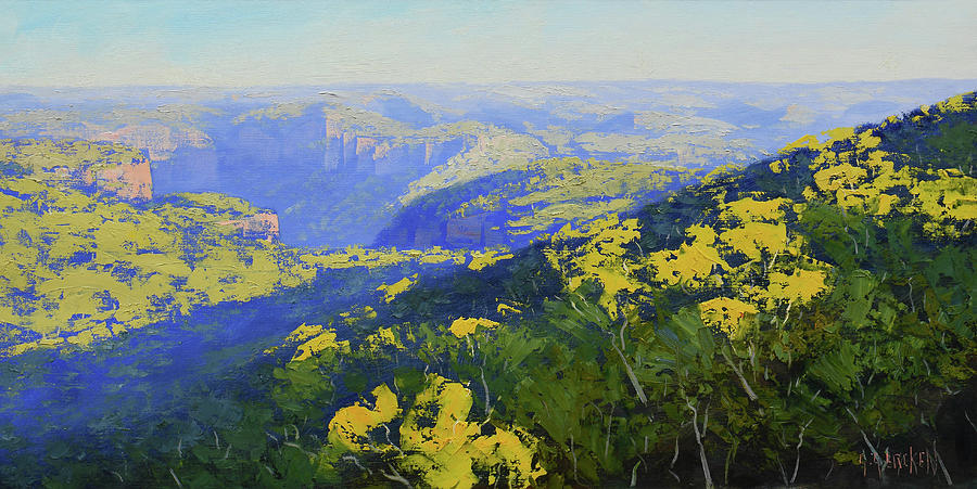 Blue Mountains Australia Painting