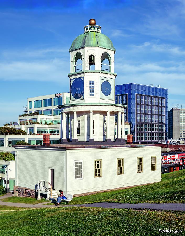 Halifax Town Clock 2017 Photograph