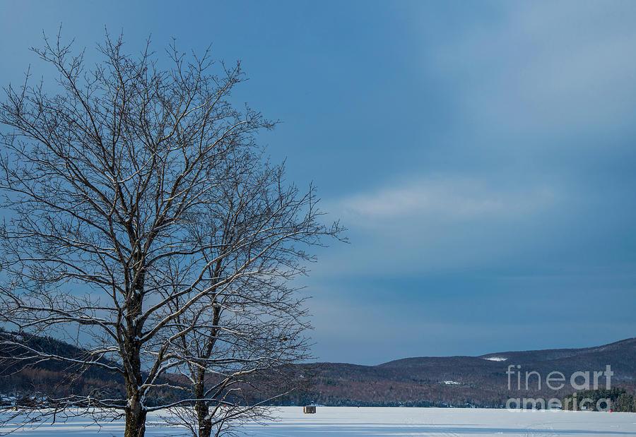 Ice Shack Photograph