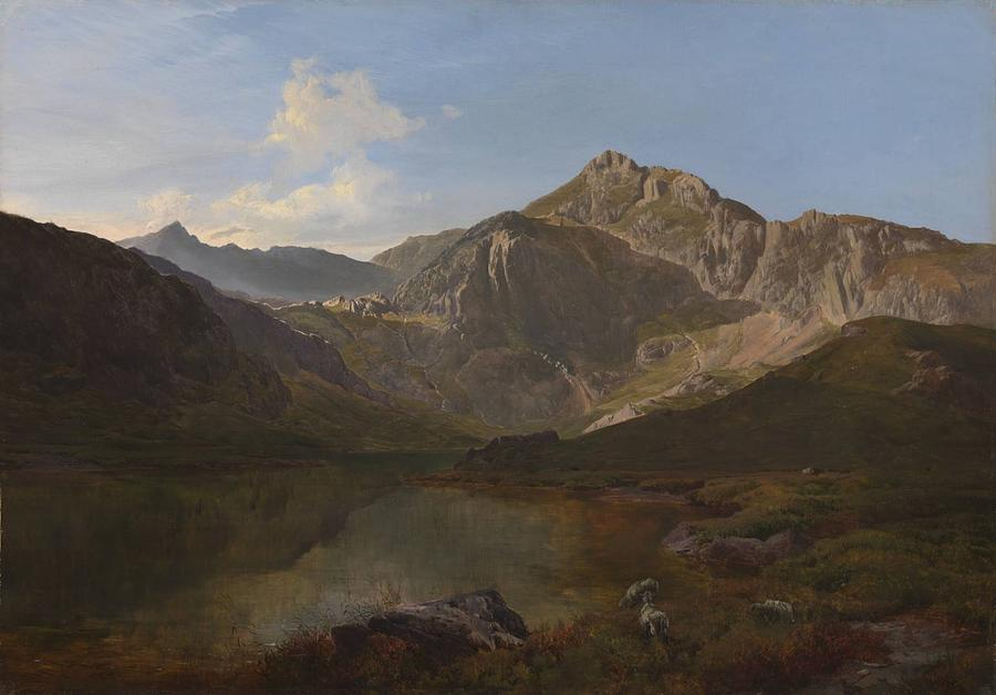 Sidney Richard Percy Painting