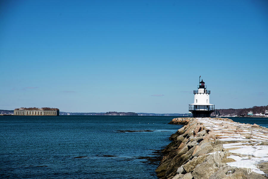 Spring Point Ledge Lighthouse II Photograph