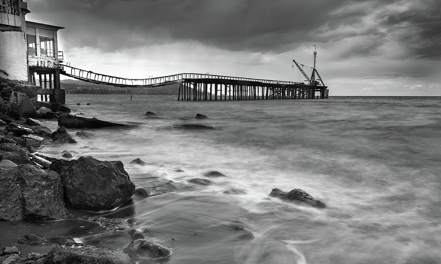The Abandoned Pier Photograph