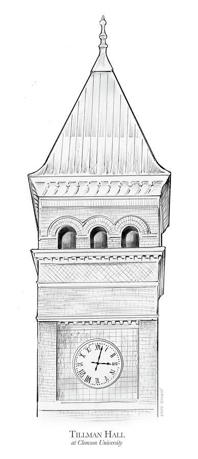 Tillman Hall Drawing