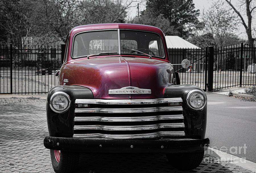 Vintage Chevrolet - Pickup Truck Photograph