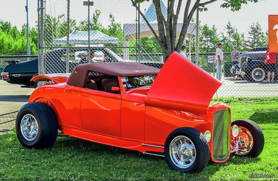 1930s Ford Highboy Photograph
