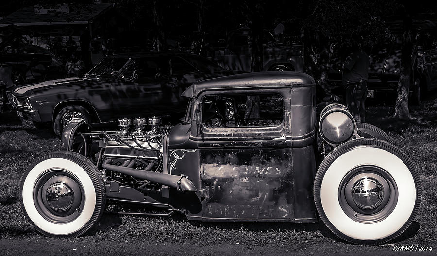 1934 Ford Pickup Hot Rod Digital Art