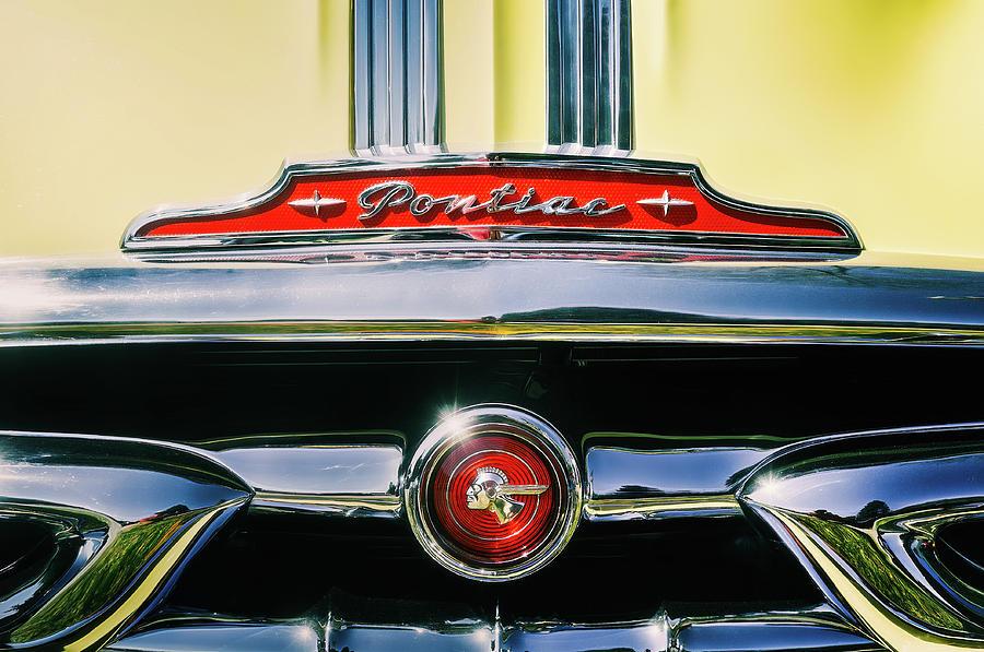 1953 Pontiac Grille Photograph