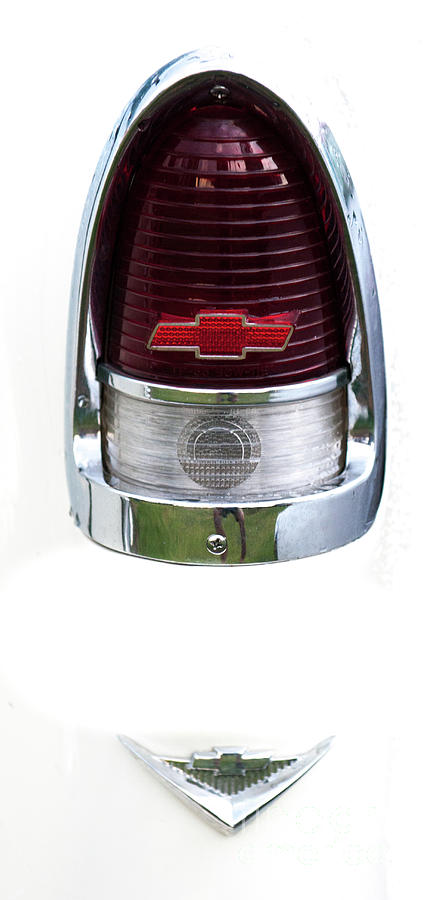 1955 Chevy Tail Light Photograph