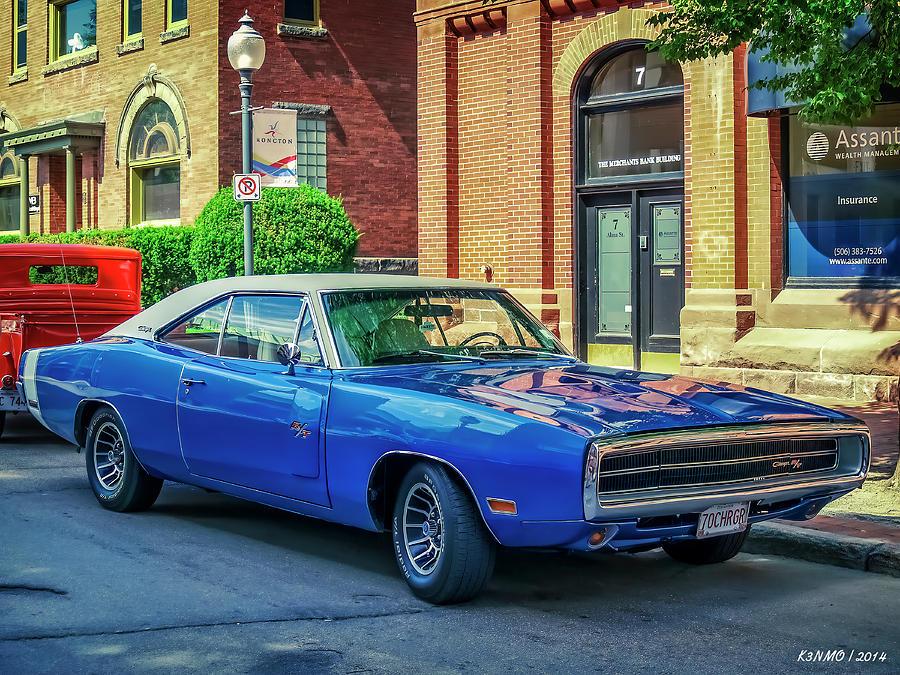 1970 Dodge Charger R/t Digital Art