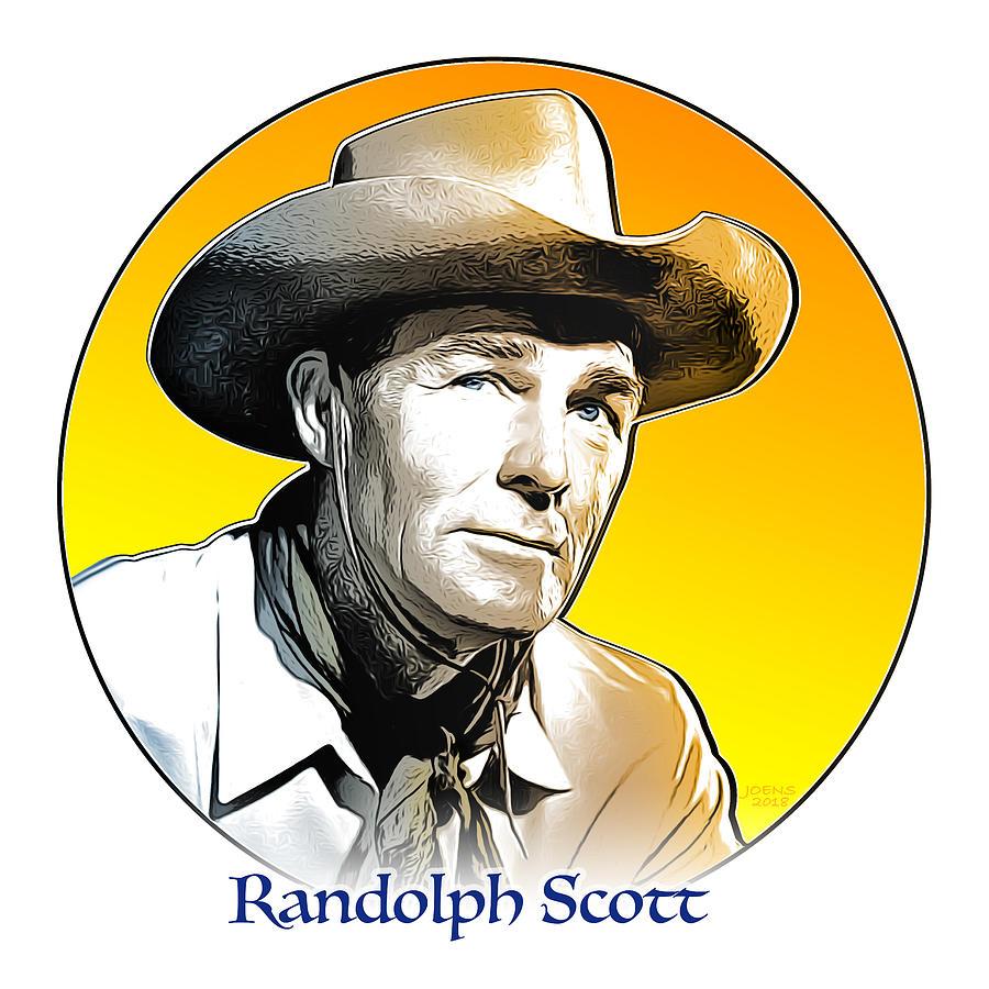 Randolph Scott Digital Art
