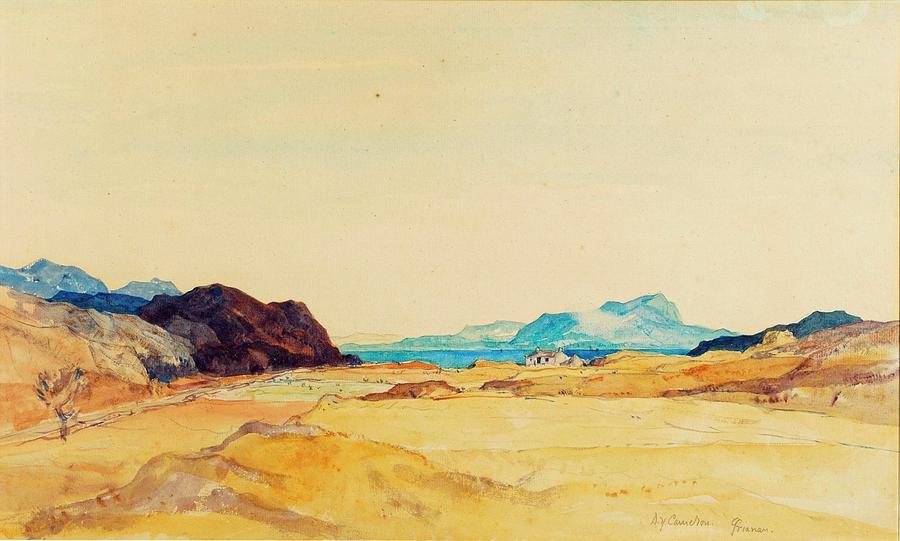 An Extensive Landscape Painting