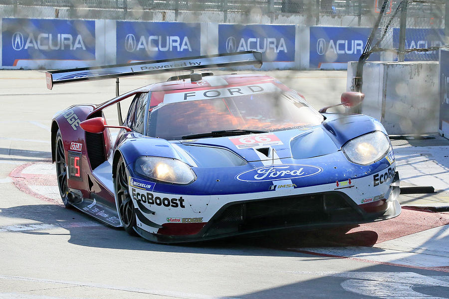 #66 Ford Gtlm Photograph