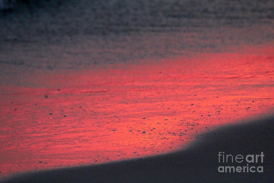 Abstract Beach Photograph
