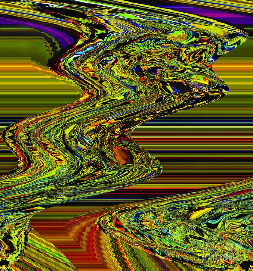 Abstract Conglomeration Digital Art