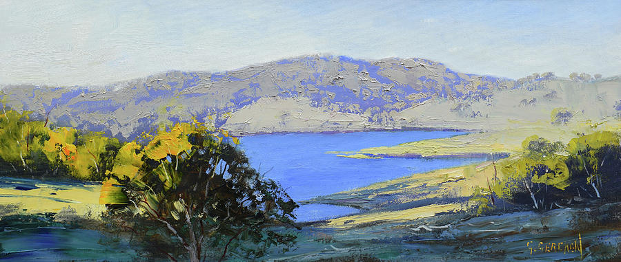 Afternoon Light Lake Lyell Painting