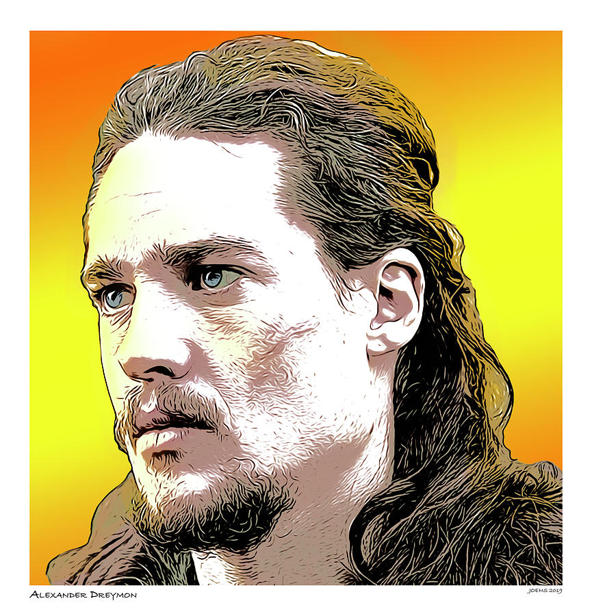 Alexander Dreymon Digital Art