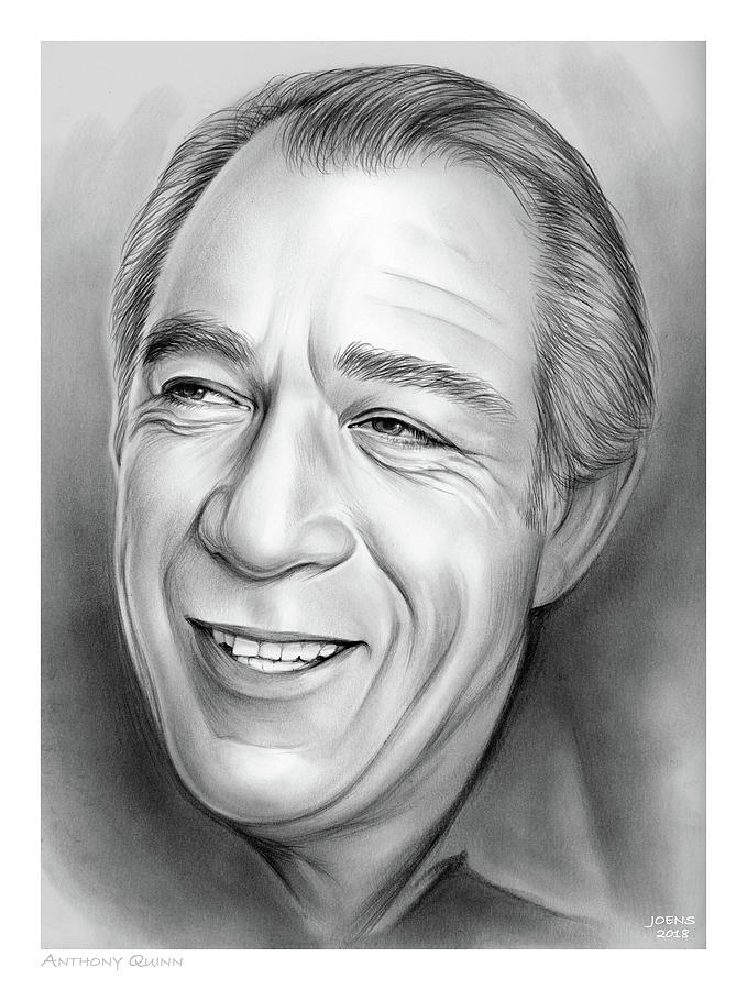 Anthony Quinn Drawing
