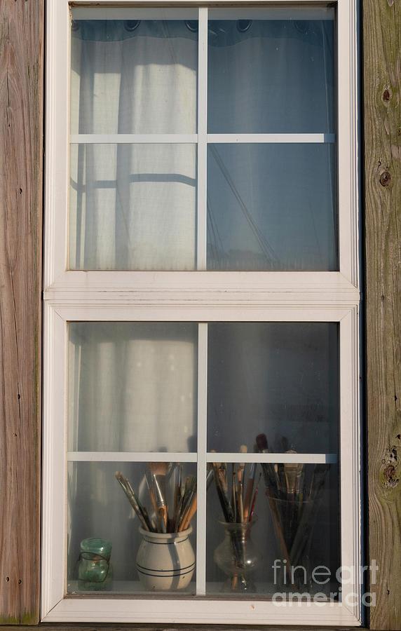 Artist Window Photograph