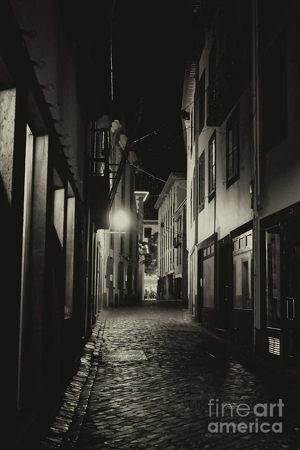 Back Street In Funchal Photograph