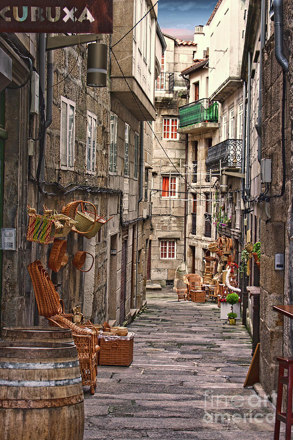 Basket Sellers Of Vigo Photograph