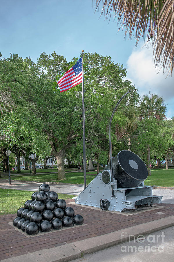 Battery Cannon Photograph