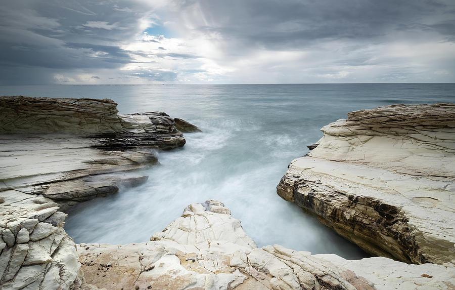 Beautiful Dramatic Seascape Photograph