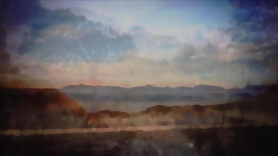 Blended Landscapes Digital Art