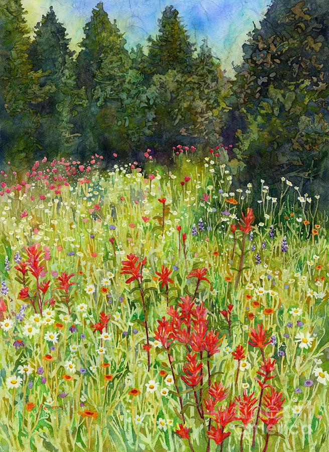 Blooming Field Painting