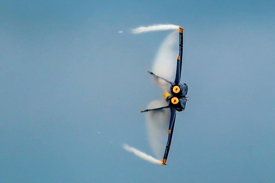 Blue Angels Vapor Photograph