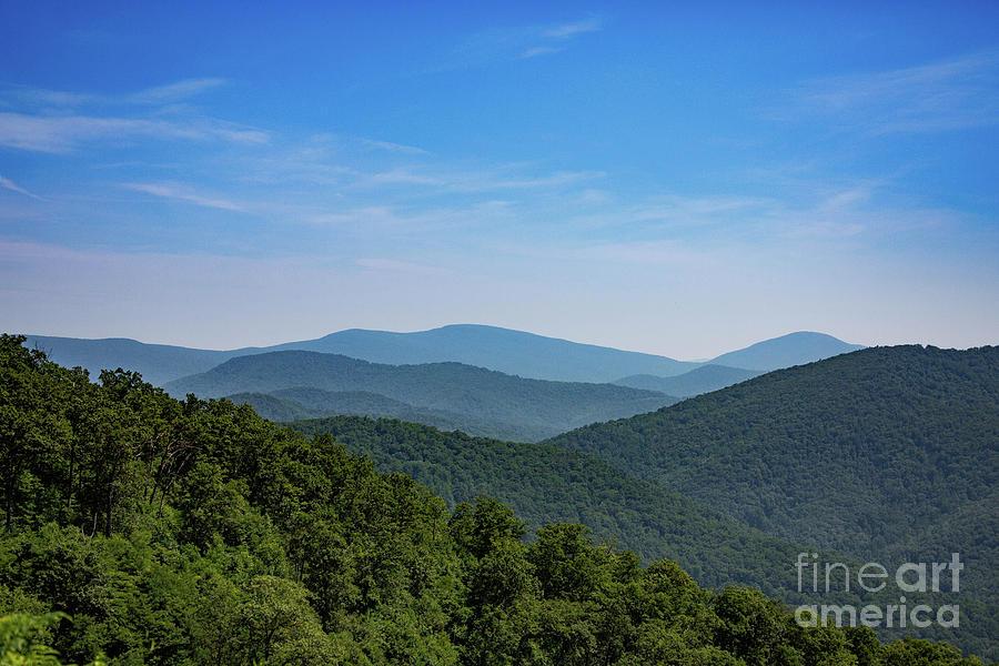 Blue Ridge Mountains, Virginia Photograph