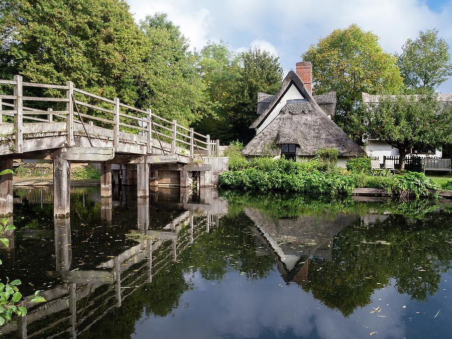 Bridge Cottage, Flatford Photograph