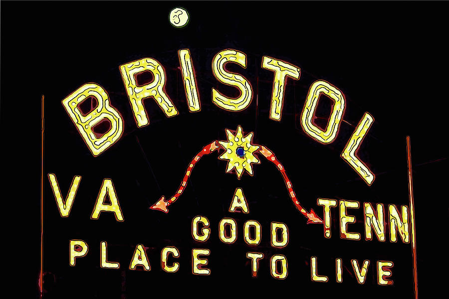 Bristol Sign Photograph