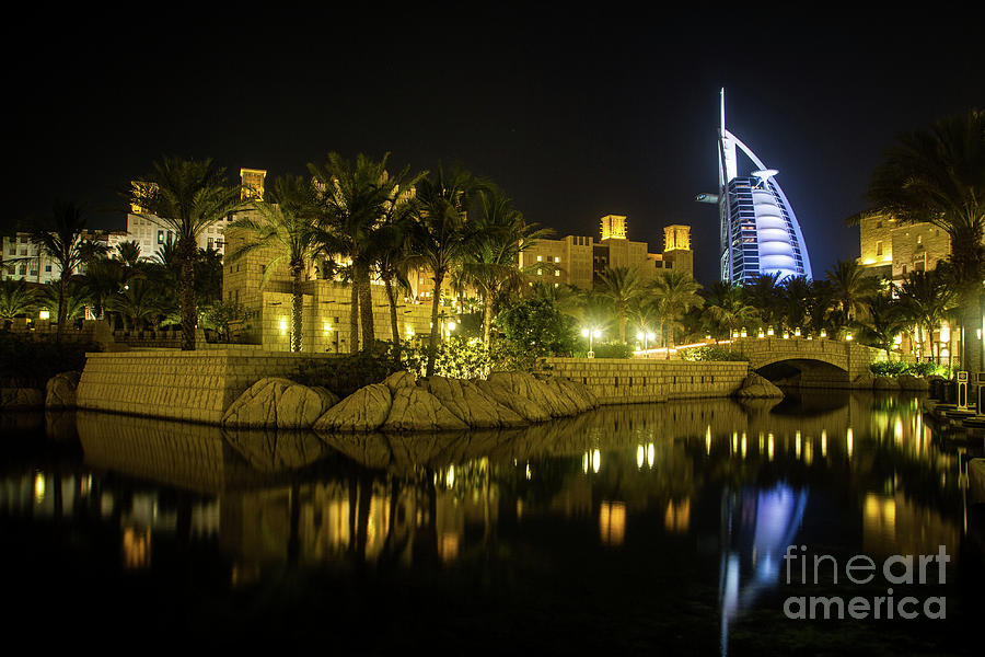 Burj Al-arab Reflection Photograph