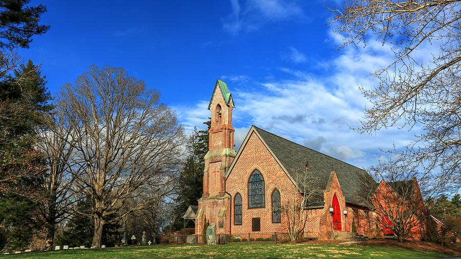 Calvary Episcopal Church Fletcher North Carolina Photograph