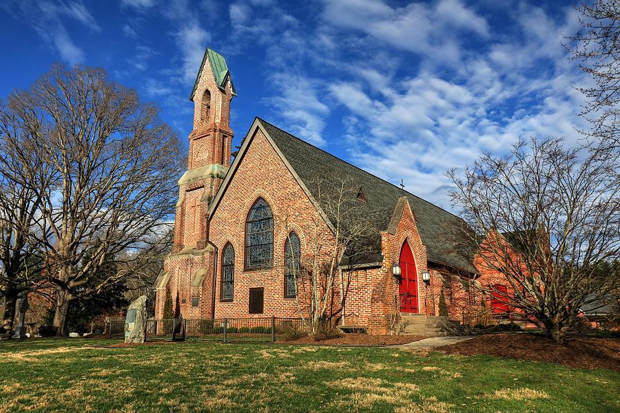 Calvary Episcopal Church Fletcher North Carolina II Photograph