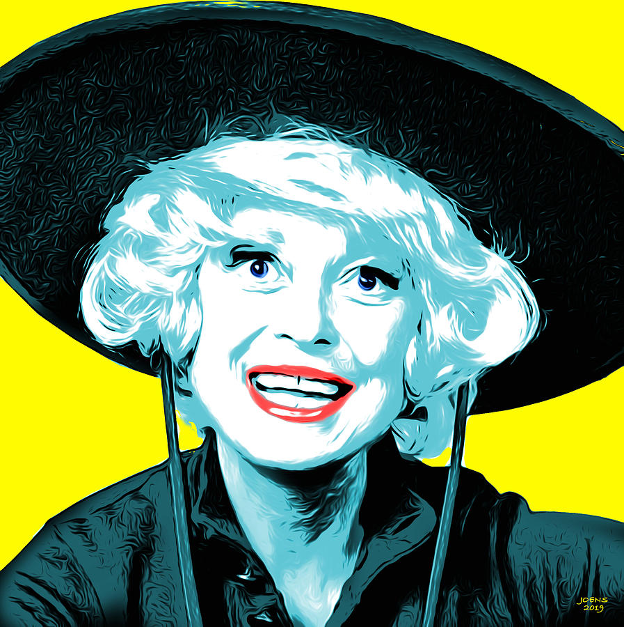 Carol Channing Digital Art