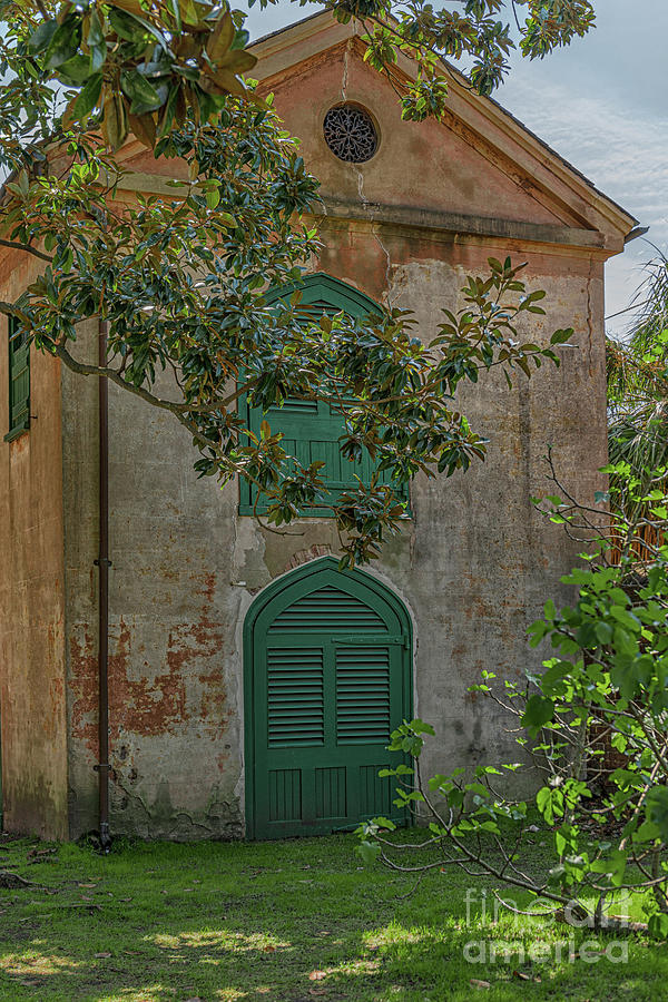 Carriage House - Aiken Rhett Home Charleston South Carolina Photograph