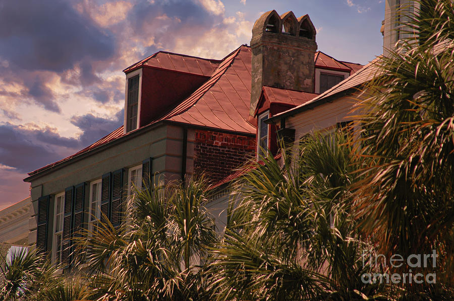 Charleston Battery - Rooftops Photograph