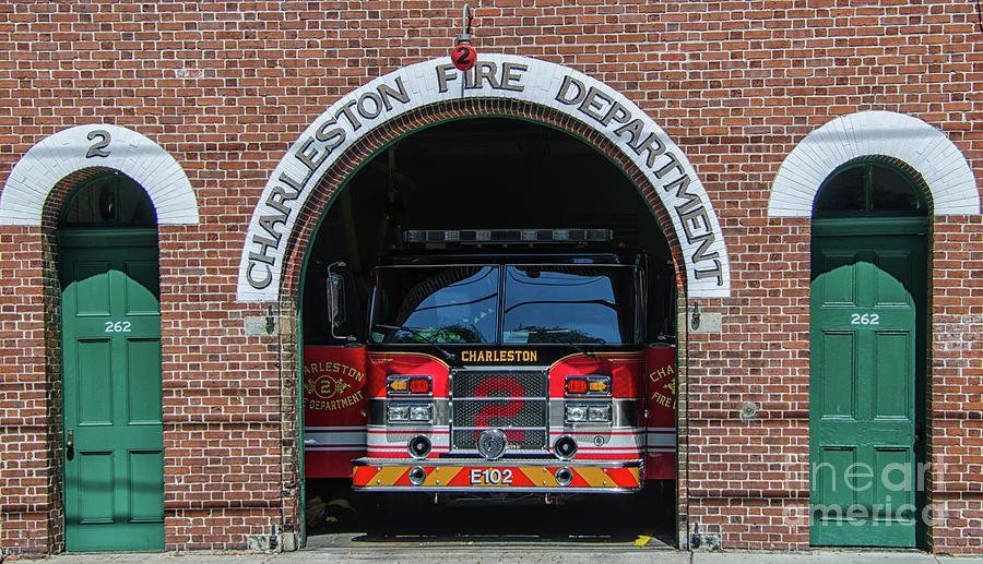 Charleston Fire Department - 2 Photograph