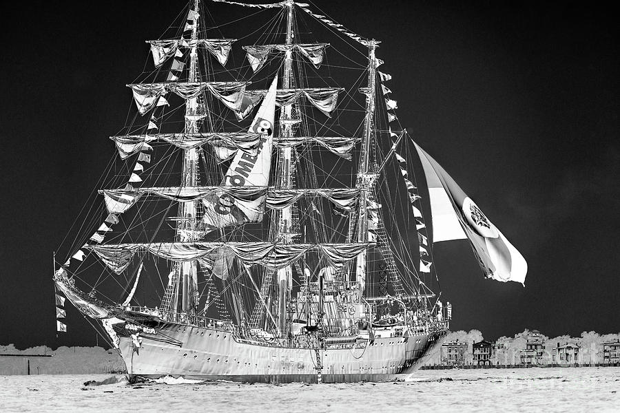 Charleston Ghost Ship Photograph