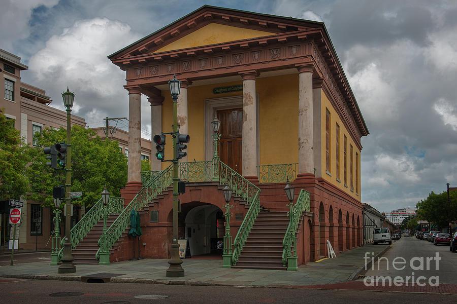 Charleston Greek Revival Landmark Bulit In 1841 Photograph