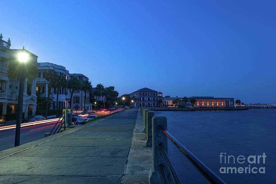 Charleston Nightlife - Long Exposure Photograph