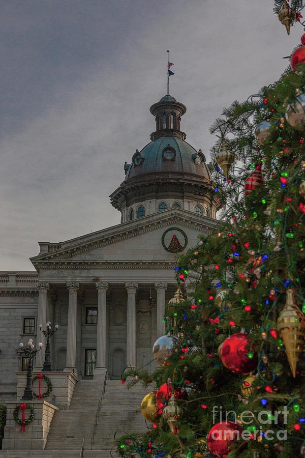 Christmas - South Carolina State House Photograph