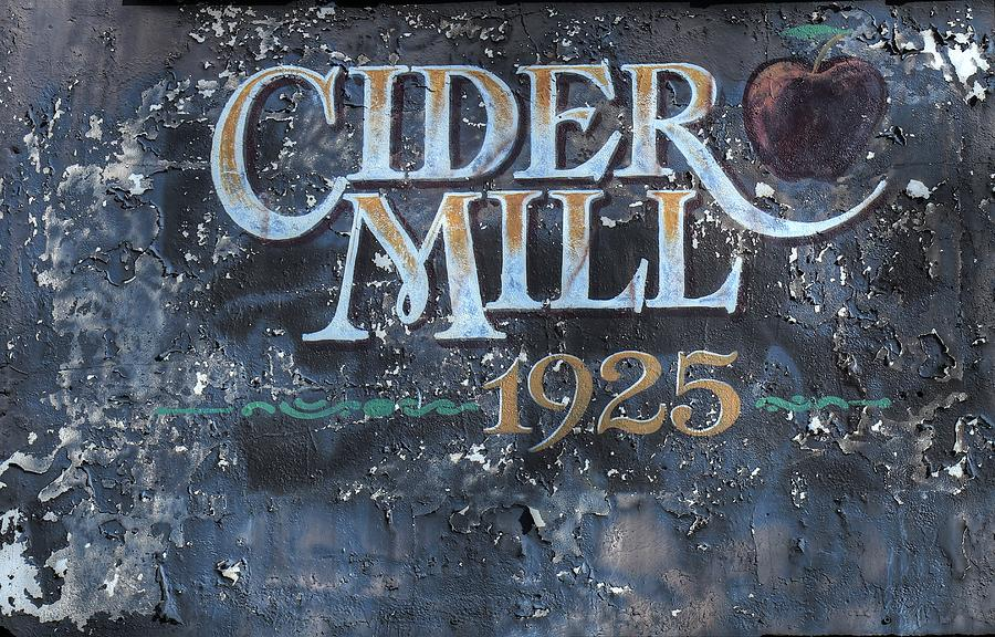 Cider Mill 1925 Sign Photograph