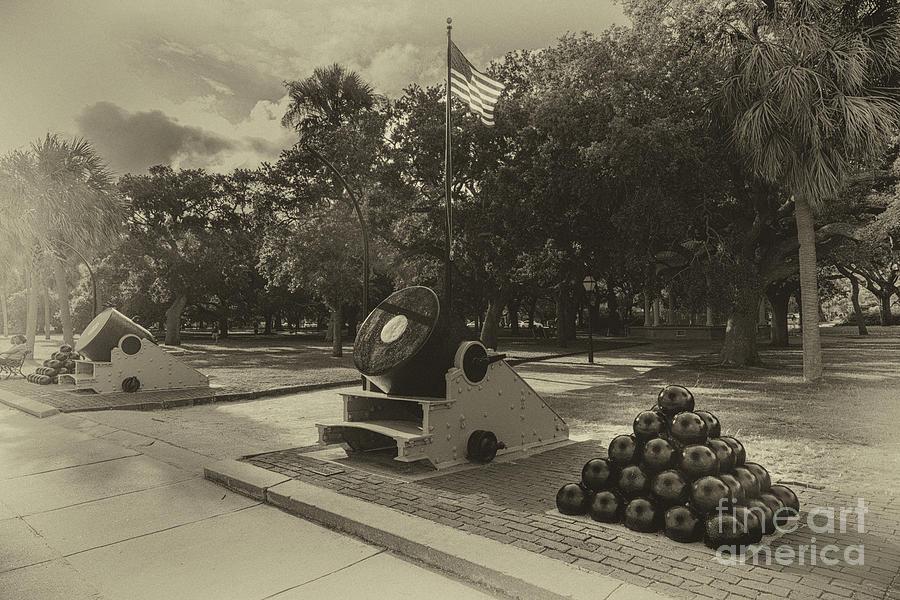 Civil War Defenses Photograph