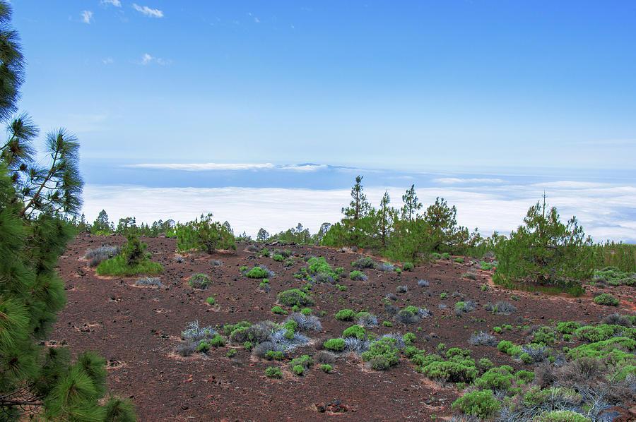 Clouds Surrounding The Teide National Park Photograph