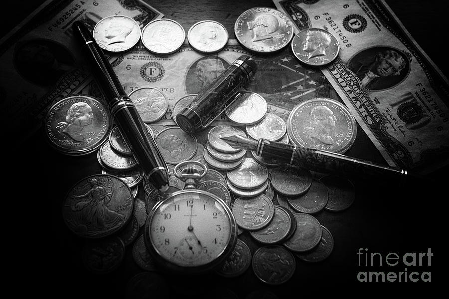 Coins Of Time Photograph