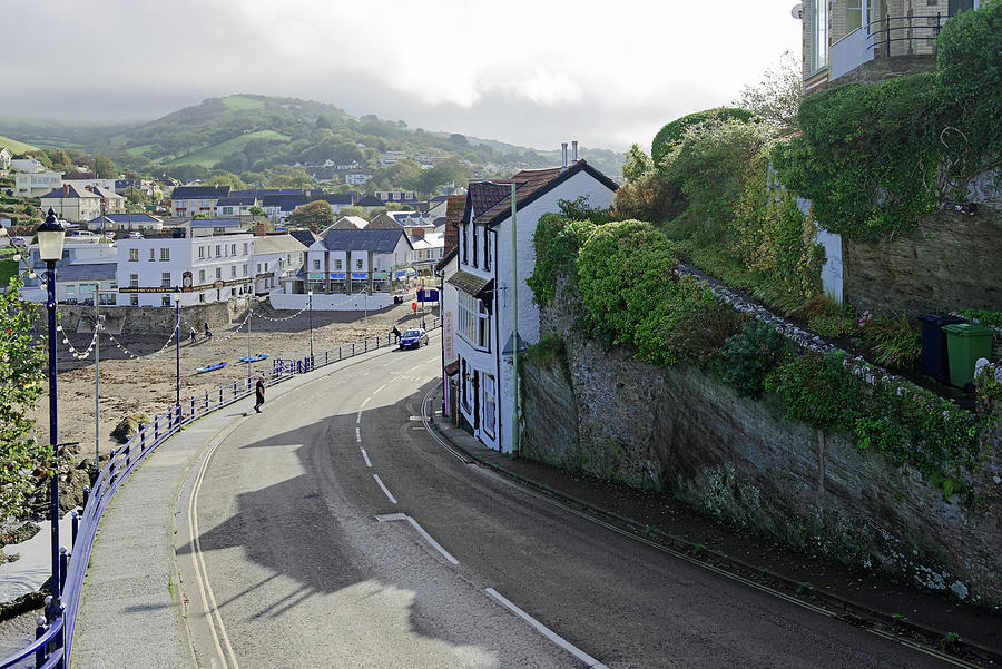 Combe Martin - Beach And Village Photograph
