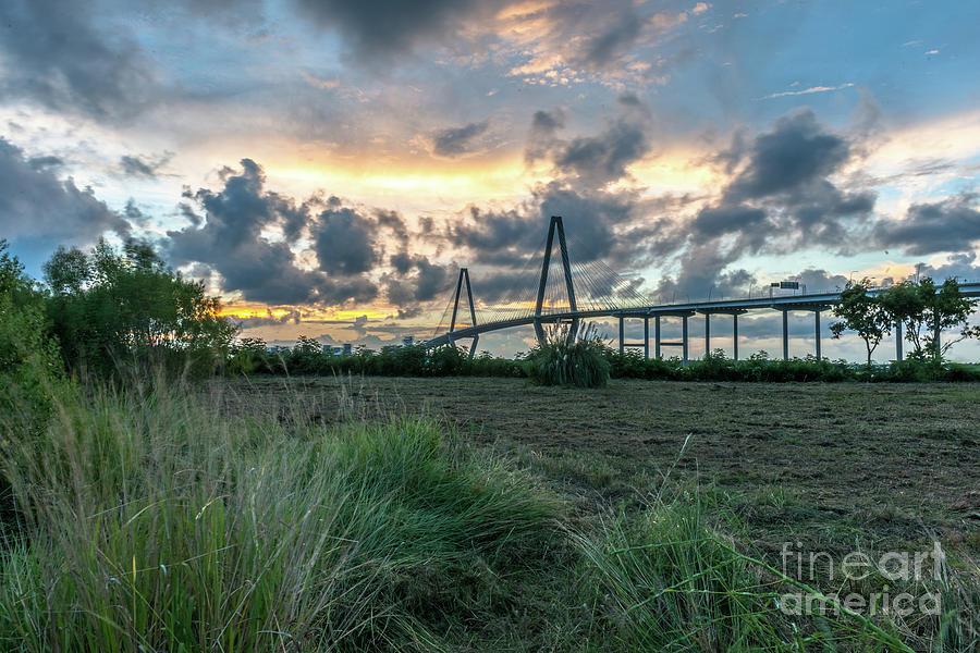 Cooper River Bridge - Charleston South Carolina Photograph