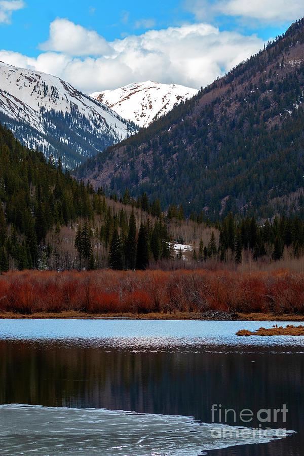 Cottonwood Lake And Cottonwood Creek Photograph